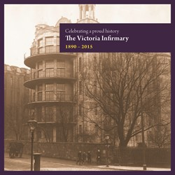 Celebrating Booklet Cover - Victoria Infirmary