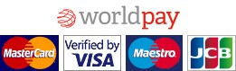 Logo - World Pay and Credit Cards 261x90