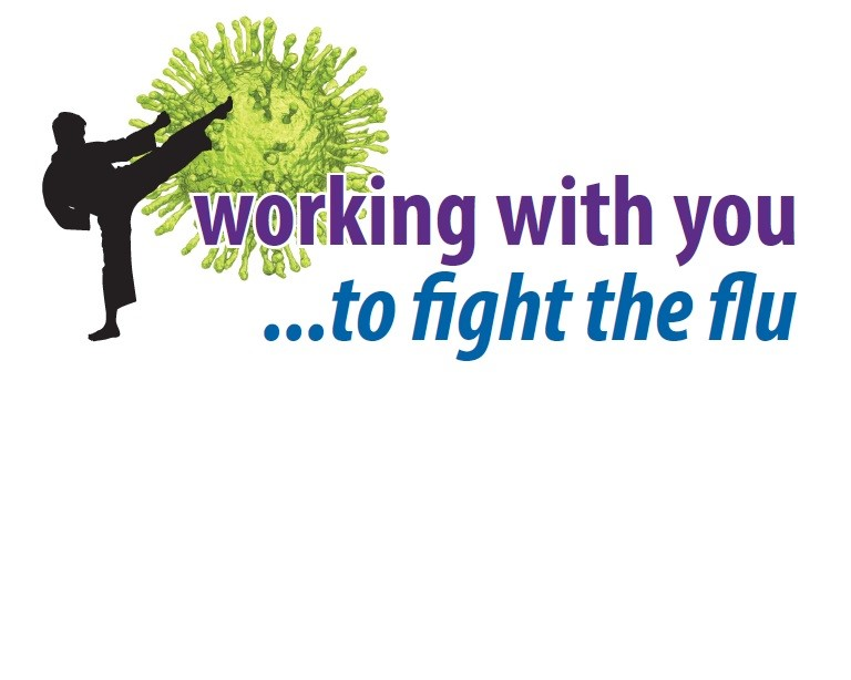 Staff flu vaccine programme logo