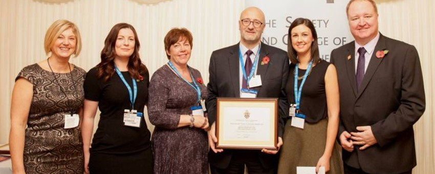 Big Congratulations to Radiography team Who Have Won National Award