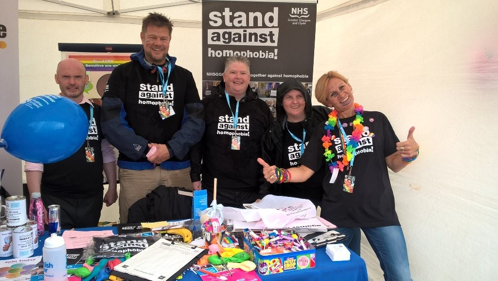 We're joining Pride Glasgow festival for sixth year in a row